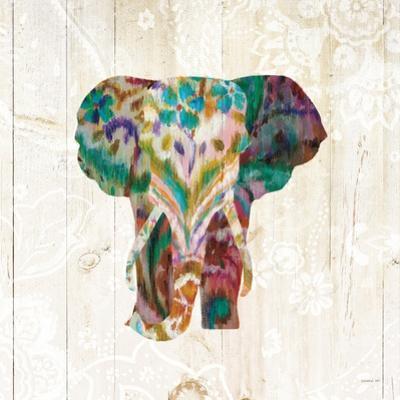 Boho Paisley Elephant III