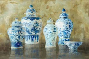 Ginger Jar Still Life v.2 by Danhui Nai