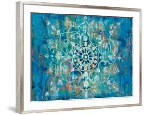 Mandala in Blue I by Danhui Nai