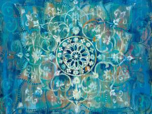 Mandala in Blue I by Danhui Nai