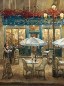 Paris Cafe I Crop by Danhui Nai