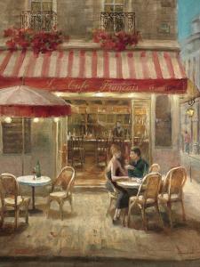 Paris Cafe II Crop by Danhui Nai