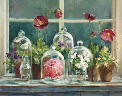 Purple Poppies Windowsill