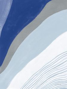 Retro Abstract IV Blue by Danhui Nai