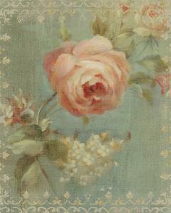 Rose on Sage by Danhui Nai