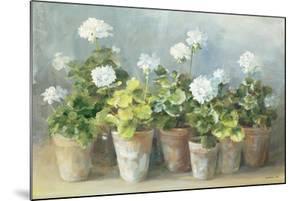 White Geraniums by Danhui Nai