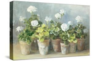 White Geraniums by Danhui Nai
