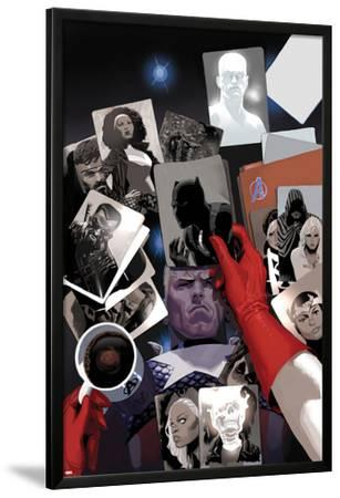 Avengers No.18 Cover: Photographs of Steve Rogers, Black Panther, Ghost Rider, Storm, and Blade