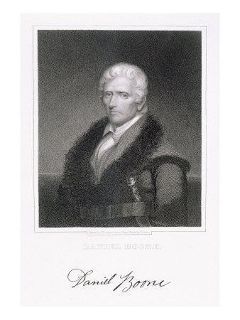 Daniel Boone-Chester Harding-Giclee Print