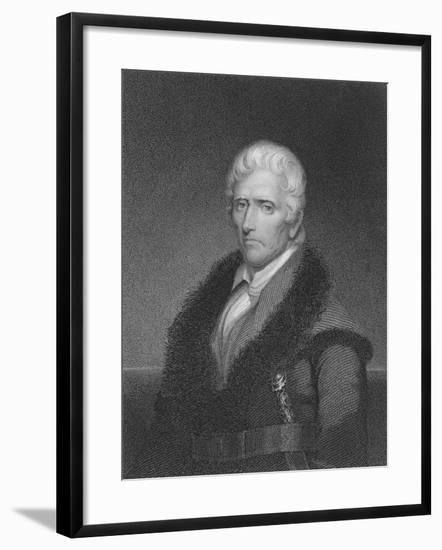 Daniel Boone-James Barton Longacre-Framed Giclee Print