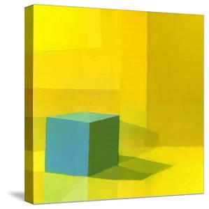 Yellow / Blue by Daniel Cacouault