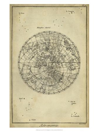 Antique Astronomy Chart II