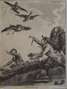 Hawking, 1792 by Daniel Dodd