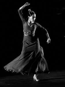 Spanish Flamenco Dancer Belen Maya Perfo by Daniel Garcia