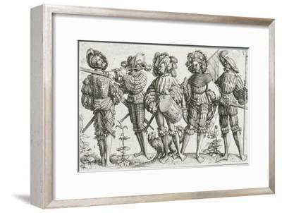 Five Mercenaries in the Thirty Years' War (1518-48), 1530