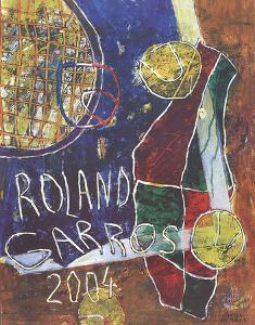 Roland Garros by Daniel Humair