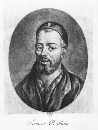 Portrait of François Rabelais