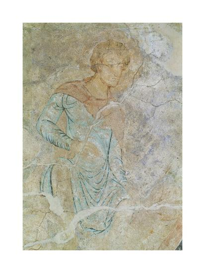 Daniel in Lions' Den, Fresco of Chapter House, Abbey of Cluny--Giclee Print