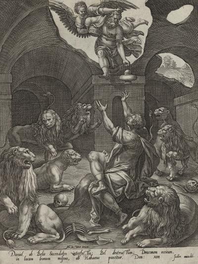 Daniel in the Lions' Den--Giclee Print