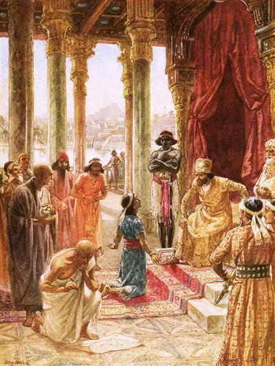 Daniel Interprets the Dream of Nebuchadnezzar-William Brassey Hole-Giclee Print