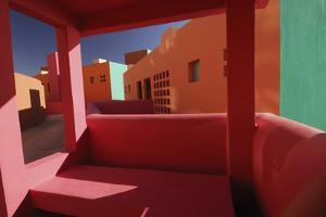 Colorful Architecture in Cabo San Lucas by Daniel J. Cox