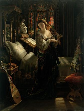 Madeline after Prayer, 1868