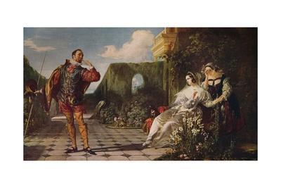 'Malvolio and the Countess', c1840, (c1915)