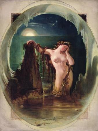 The Origin of the Harp, C.1842
