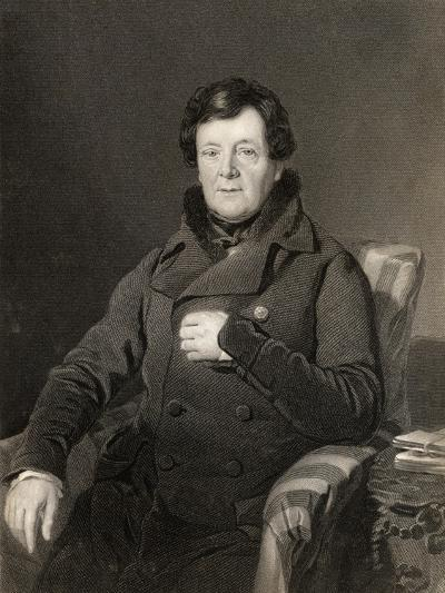 Daniel O'Connell, Engraved by W. Holl, from 'The National Portrait Gallery, Volume Iv', Published…-Thomas Heathfield Carrick-Giclee Print
