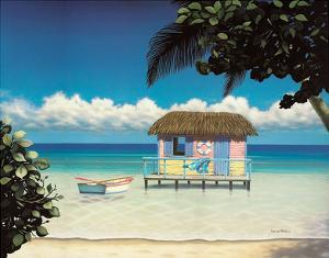 Island Hut by Daniel Pollera