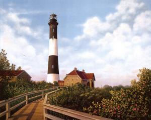 West Channel Lighthouse by Daniel Pollera