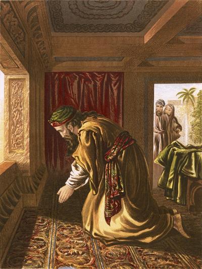 Daniel Praying-English-Giclee Print