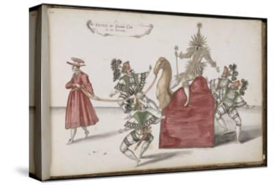 """Album ; Ballet de la Douairière de Billebahaut (?) ; """"Entrée du Grand Can et de ses suivants"""" ;"""