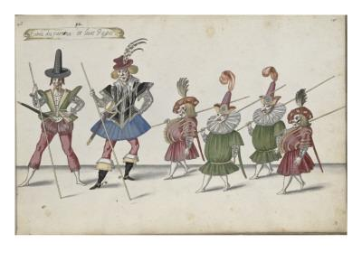 Album ; Ballet de la Douairière de Billebahaut et Ballet des fées des forêts de Saint Germain
