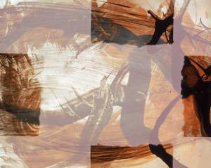 Abstract Image in Brown and White by Daniel Root
