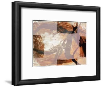 Abstract Image in Brown and White