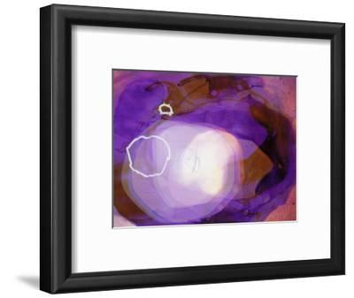 Abstract Image in Various Shades of Purple
