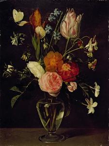 A Vase of Flowers by Daniel Seghers
