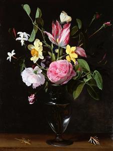 Still Life of Flowers by Daniel Seghers