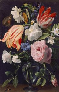 Vase with Flowers, 1637 by Daniel Seghers