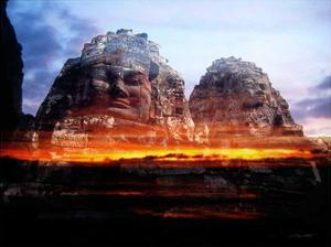 Cambodi Faces Fire by Daniel Stanford