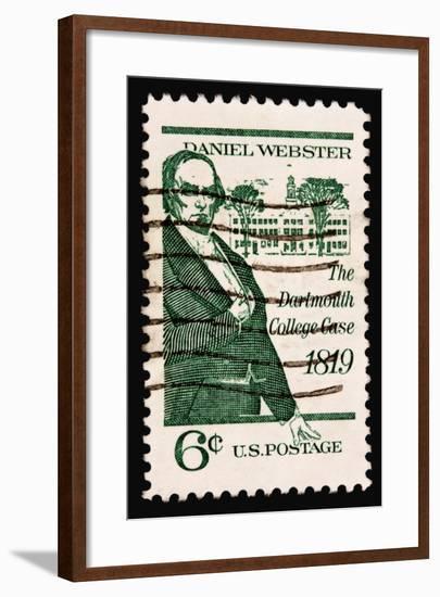 Daniel Webster 1969-LawrenceLong-Framed Art Print