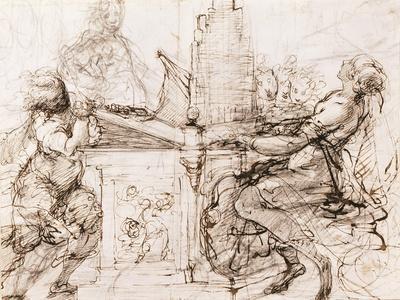 Saint Cecilia at the Organ, 1620-1629