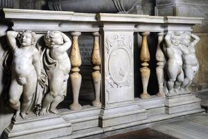 Detail of Balustrade by Daniele Da Volterra