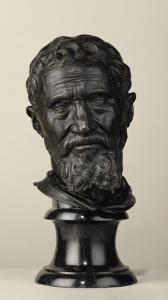 Portrait de Michel-Angelo Buonarroti by Daniele Da Volterra