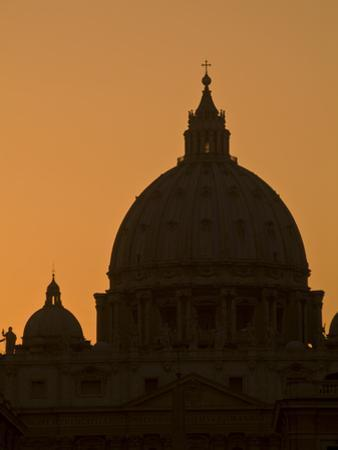 Saint Peter's Basilica at the Vatican by Daniella Nowitz