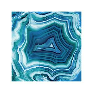 Agate in Aqua by Danielle Carson