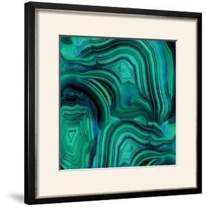 Malachite in Green and Blue by Danielle Carson