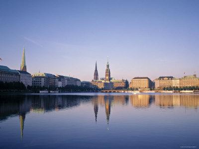 Alster River, Hamburg, Germany