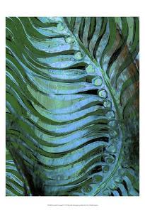 Emerald Feathering II by Danielle Harrington